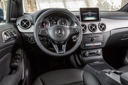 Mercedes-Benz B-Klasse Modelljahr 2014, B-Klasse Electric Drive (W242), zirrusweiß, Interieur